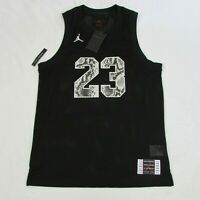 Air Jordan Jumpman Retro 11 Snakeskin Mesh Black Basketball Jersey CI0304 Men SM