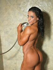 PHOTO 6X8 GYM GIRLS - MUSCLE WOMAN - FITNESS