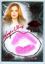 "KAYLA COLLINS ""RED KISS AUTOGRAPH CARD /1"" BENCHWARMER SIN CITY 2015"