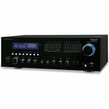 Technical Pro RX55URIBT 1500W Peak Receiver w/ USB/SD Card Input & Bluetooth