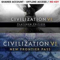 Civilization 6 VI Complete Edition PC Steam OFFLINE - READ DESCRIPTION