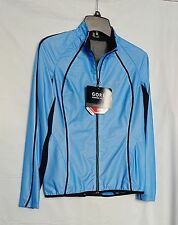 NWT GORE MAGNITUDE ACTIVE SHELL LADY JACKET RUNNING WEAR S BLUE $159 SALE