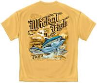 Wicked Fish Tuna T-Shirt - PreShrunk Cotton - 6 Sizes