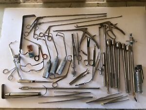 LOT OF 40 SURGICAL MEDICAL TOOLS INSTRUMENTS Lot #4