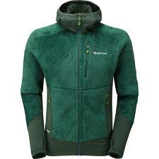 Montane Wolf Hooded Jacket Fleece - Arbor Green All Sizes