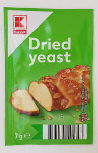 Dried Yeast 4 x 7gr. Sachets for Bread & Baking PIZZA DOUGH Fast Acting