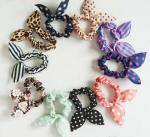 Ladies Women Hair Bobble Bow Scrunchy Style Pack Of 2 Hair Accessories
