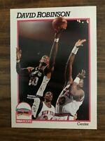 1991-92 Hoops  #194  David Robinson San Antonio Spurs NrMt