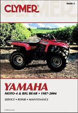 Yamaha YFM350 YFM400 YFM 350 400 Moto-4 Big Bear ATV Quad CLYMER REPAIR MANUAL