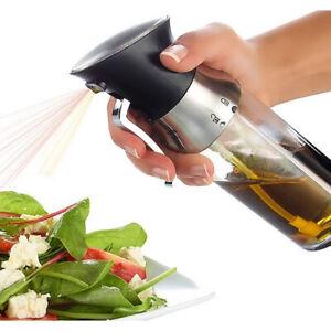 2-in-1 Oil Sprayer Kitchen Dosage Oil Sprayer Seasoning Bottel Mist Dispenser