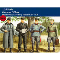 HobbyBoss 84406 1/35 German Officer Soldiers Figures Plastic Assembly Model Kits