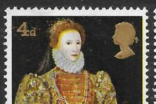 GB 1968 British Paintings SG771, VARIETY, Large Yellow Colour Shift - MNH