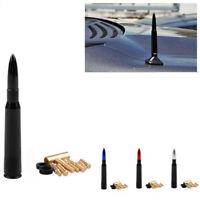 Aluminum Car SUV Bullet Antenna Cal Caliber Bullet Ammo Short Antenna Kit J X ¾r