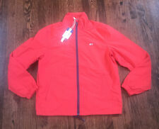 NWT$129 Mens Tommy Hilfiger Summer Weight Red Track...