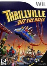 Thrillville: Off the Rails - Nintendo  Wii Game