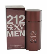 212 Sexy Men by Carolina Herrera for Men 3.4/3.3 oz EDT Spray - New in box