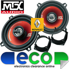 Renault Clio 1992-2001 MTX 13cm 5.25 Inch 400 Watts 2 Way Rear Hatch Speakers