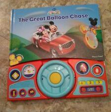 "Disney•Mickey/Mini•Mouse•Clubhouse""The Great Balloon Chase""•Play A Sound•18•mths"