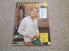 STITCHCRAFT Ladies Vintage Knitting Magazine June 1960