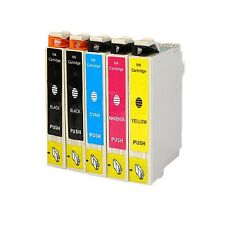 5-Pk/Pack 220 220XL T220XL Ink For Epson XP-320 XP420 XP424 WF-2630 2650 2660