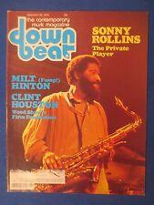 DOWN BEAT MAGAZINE JANUARY 25 1979 SONNY ROLLINS MILT HINTON CLINT HOUSTON