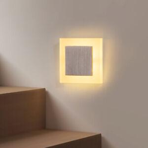 3W LED Treppenlicht Treppenbeleuchtung LED Wandlampen Treppenleuchte Stufenlicht