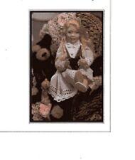 1:12 Visual Dollhouse Doll Dressing Made Easy~By Dana ~ VICTORIA ~ PDF Tutorial