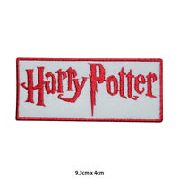Harry Potter Movie Comic Embroidered Patch Iron on Sew On Badge For Clothe etc