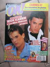 OK 593 (25/5/87) ELSA STEPHANIE NICK KAMEN+