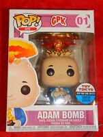 LE3000 Adam Bomb metallic NYCC Funko Pop Vinyl New in Mint Box + protector