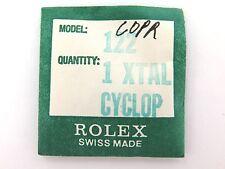 .VINTAGE ROLEX N.O.S 122 CYCLOPS CRYSTAL. 7606 7607 9230 9231 92300 92311 ETC