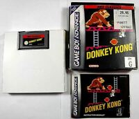 Donkey Kong NES Classics for Nintendo GameBoy Avdance Complete CIB Game Boy