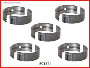 Engine Crankshaft Main Bearing Set ENGINETECH, INC. BC152JSTD