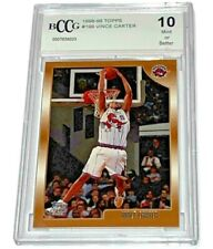 VINCE CARTER 1998-99 TOPPS #199 BCCG 10 MINT OR BETTER BASKETBALL TRADING CARD