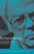 USED (GD) Richard Rorty (Contemporary Philosophy in Focus)