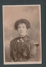Lozells, Birmingham, May & Co., studio photo, May Hicks, embroidery, qc 610