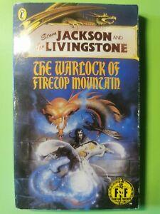 Warlock of Firetop Mountain Book #01 Fighting Fantasy Steven Jackson Ian Livings