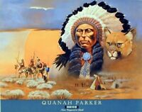 Native American Indian Comanche Chief Quanah Parker Home Decor Art Print (16x20)