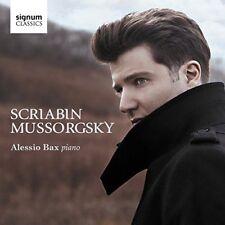 ALESSIO BAX SCRIABIN MUSSORGSKY [CD]