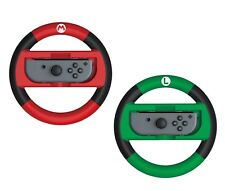 HORI Official Nintendo Switch Mario Kart 8 Deluxe Racing Wheel - Mario & Luigi