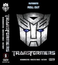 DVD ANIME Transformers: Headmaster Masterforce Victory ENGLISH DUB + FREE DVD