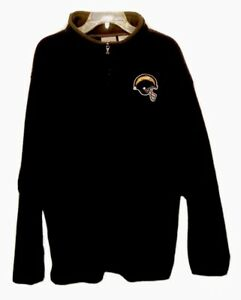 Los Angeles Chargers NFL Reebok Men's Large Quarter Zip Fleece Jacket
