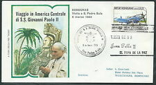 1983 VATICANO VIAGGI DEL PAPA HONDURAS S. PEDRO SULA - RM2
