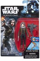 Star Wars: Rogue One Sergeant Jyn Erso Hasbro 3.75 Inch Action Figure | NEW