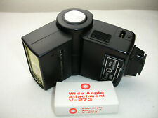 Vivitar 273 Shoe Mount Flash with wide angle attachment V-273