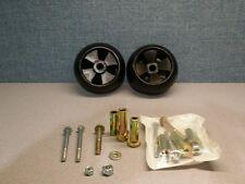 2 John Deere Deck Wheel + 9 PC KIT  5X2 A15 AM-116299,M111489,M11149,AM133602