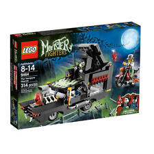 Lego Monster Fighters 9464 THE VAMPYRE HEARSE Zombie Driver Dracula NISB