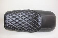 BMW K100 K75 Style Fibre de verre Cafe Racer SEAT fini en Noir Avec Deluxe Pad