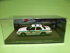 FORD CROWN VICTORIA - POLICE INTERCEPTOR - 007 BOND CASINO ROYALE 1:43 - NMIB
