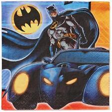 DC Batman Bat Mobile Birthday Party Lunch Napkins 16 Per Pkg ~ Party Supplies